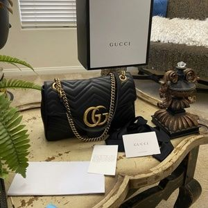 Handbags - AUTHENTIC GUCCI MARMON MEDIUM